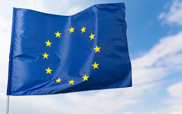 European flag Premium Photo